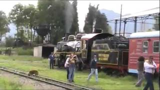 preview picture of video 'trip in the Tren (Train)  de la  sabana de Bogota DC Colombia  with a Salvadoran girl !!'