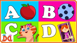 The Phonics Song - ABC Songs for Children | Nursery Rhymes for Children by Derrick and Debbie