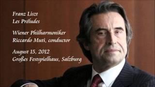 Liszt: Les Préludes - Muti / Wiener Philharmoniker