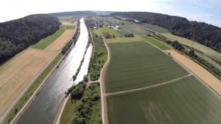 preview picture of video '7 Täler Campingplatz Altmühltal'