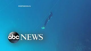 Mysterious Disappearance of Champion Free Diver