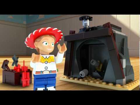 Vidéo LEGO Toy Story 7594 : Western Woody