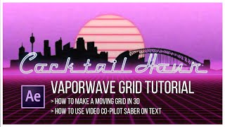 After Effects Tutorial 80's styled intro - Free video search