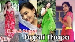 New Viral TikTok Video of Anjali Thapa || Musically Video 2019