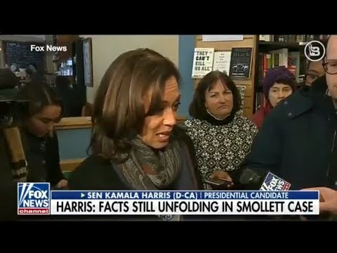 Kamala Harris Backpedals When Challenged About Jussie Smollett
