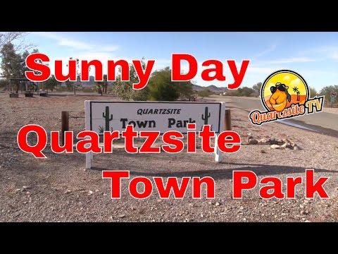 Quartzsite Town Park Sunny Day...Quartzsite Arizona...Quartzsite TV