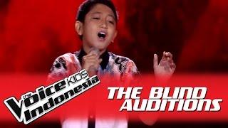 "Era Bima ""Bukan Rayuan Gombal"" I The Blind Auditions I The Voice Kids Indonesia GlobalTV 2016"