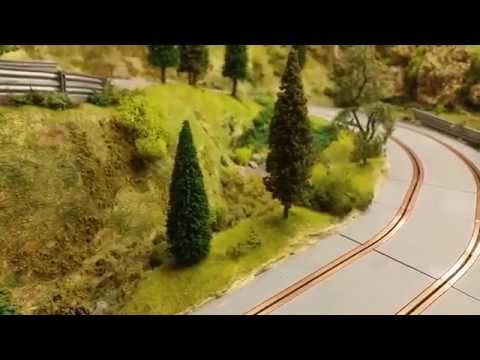 Byron rally …. scalextric slot car track