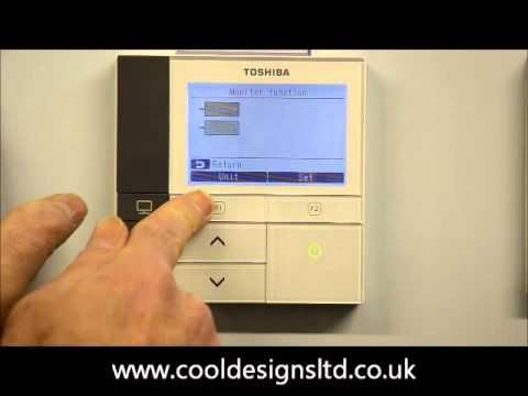 Access operational data from a Toshiba RBC-AMS51...