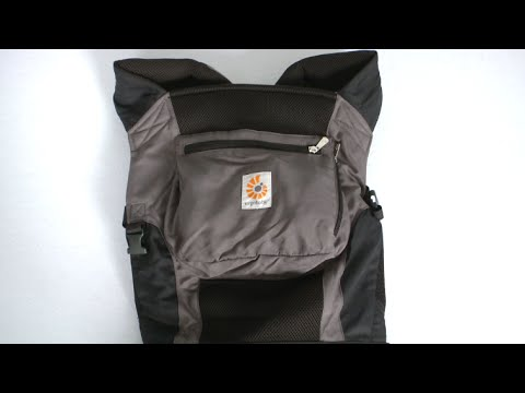 Performance Baby Carrier Charcoal Black from Ergobaby