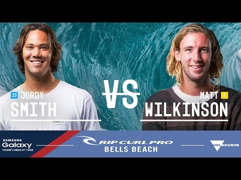 Jordy Smith vs. Matt Wilkinson - Rip Curl Pro Bells Beach 2016 Final