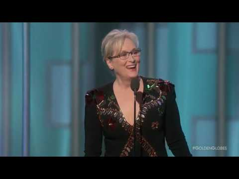 Meryl Streep powerful speech at the Golden Globes (2017)