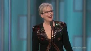 Meryl Streep Powerful Speech At The Golden Globes 2017