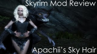 Skyrim Mod Review- Apachii's Sky Hair