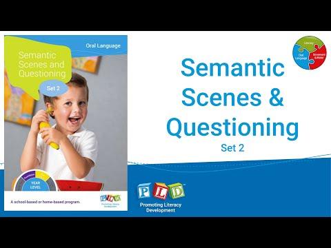 Semantic Scenes and Questioning - Set 2