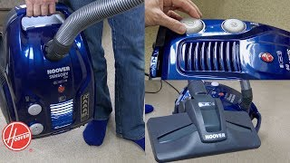 Hoover Sensory Evo AAAA Rated Vacuum Cleaner Unboxing & First Look