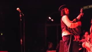 Adam Green unplugged - The Prince's Bed - live Ampere Munich 2014-02-06