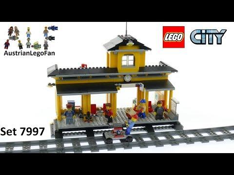 Vidéo LEGO City 7997 : La gare