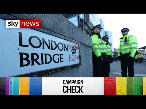 How true are politicians' claims over London Bridge attack?