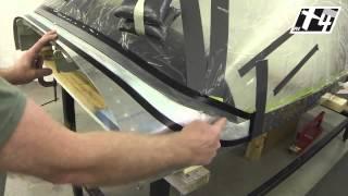 RV-14 Canopy Fairing Area Preparation Part 01