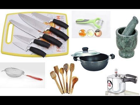 Basic Kitchen Equipment Required For Beginner || requirement of good chef
