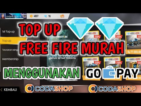 Tutorial Cara Top Up Diamond Free Fire Murah Menggunakan GOPAY