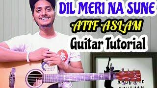Dil meri na sune - Atif Aslam - Easy guitar chord lesson, Guitar tutorial
