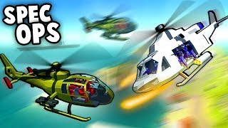 SECRET Mission in NEW Spec Ops HELICOPTERS!  (Ravenfield New Mods Gameplay)