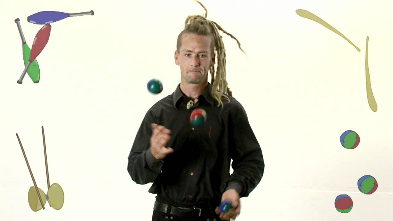 Archi Malabares pelotas: Básico