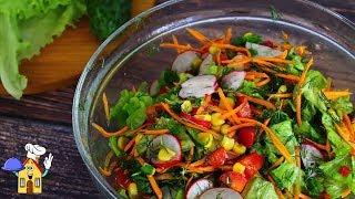 Думала Просто САЛАТ из свежих овощей, а такой Вкусный!