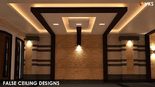 Modern False Ceiling Interior Designs | Bedroom Gypsum Ceiling Designs | POP False Ceiling Designs