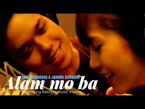 Elmo Magalona and Janella Salvador - Alam Mo Ba (Official Recording Session Music Video)