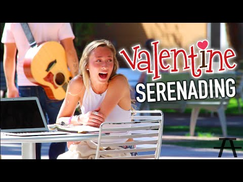 FREESTYLE SERENADING FOR VALENTINES!!