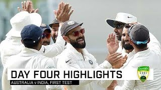 India have Australia on the ropes | First Domain Test