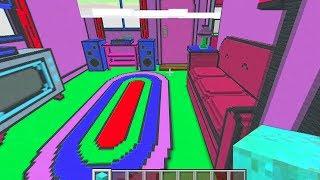 Майнкрафт - Здесь, в домике майнкрафт живут СИМПСОНЫ - Minecraft