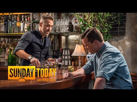 'Deadpool' Star Ryan Reynolds On His New Passion Project: Aviation Gin | Sunday TODAY (видео)