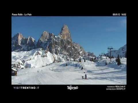 Passo Rolle - Cimone - Timelapse Gennaio e Febbraio 2013