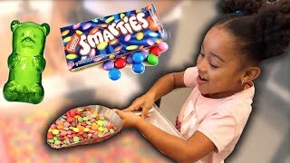 Candy Store Shopping Spree Kids Pretend Play! FamousTubeKIDS