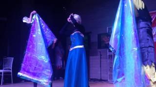 Apresentação Shinobi Spirit 2014   Naoto Como Elsa De Frozen