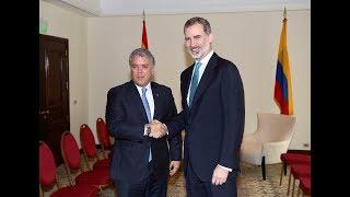 Encuentro bilateral entre S.M. el Rey y el Presidente de la República de Colombia, Iván Duque
