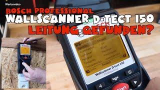Ausprobiert: Bosch Professional D-tect 150 / D-tect 150 SV