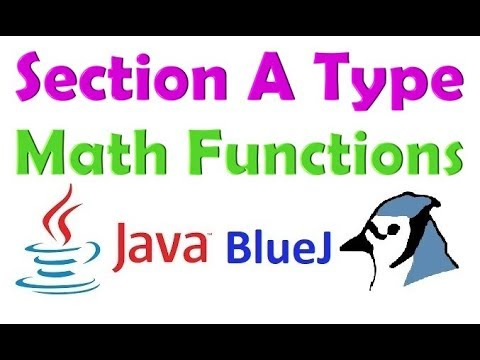 ICSE Java Math Functions