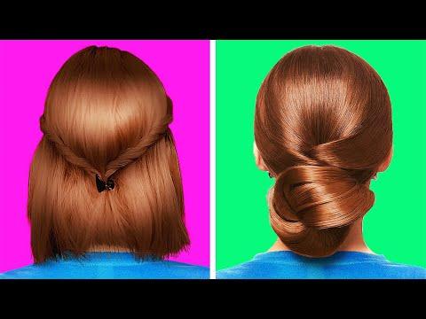 צפו בסרטון הזה ותכירו עיצובי שיער מקסימים שאפשר לעשות לבד בבית