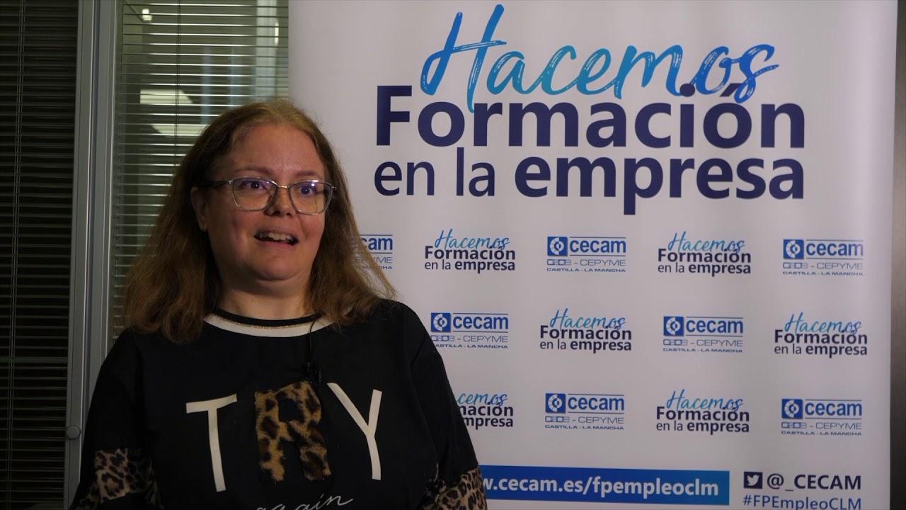 VIDEOS ALUMNOS. Daniel Serrano Corbacho. Alumno centro de formación Infobit. Rosa Castillo Moreno. Alumna centro de formación Efinnova.