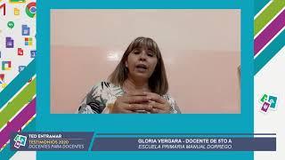 Gloria Vergara, Escuela Manuel Dorrego