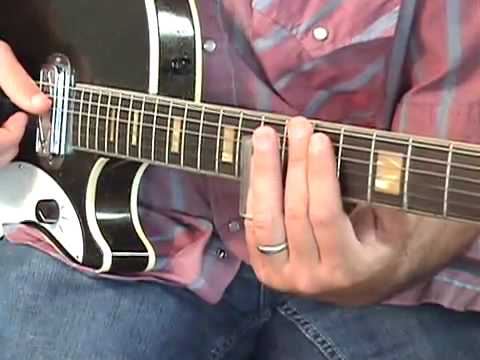 Beginning Slide Guitar Lessons - Standard Tuning EADGBe