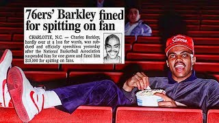 The Buried Video of Charles Barkley SPITTING on an 8 Year Old Girl