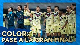 COLOR : Todos los goles y la emoción americanista del pase a la final América 2-0 Morelia