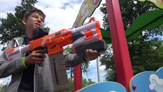 Нёрф битва Единорог Трейлер    Nerf Battle Unicorn Trailer