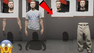 GTA 5 ONLINE || 100% Invisible body for male character!!